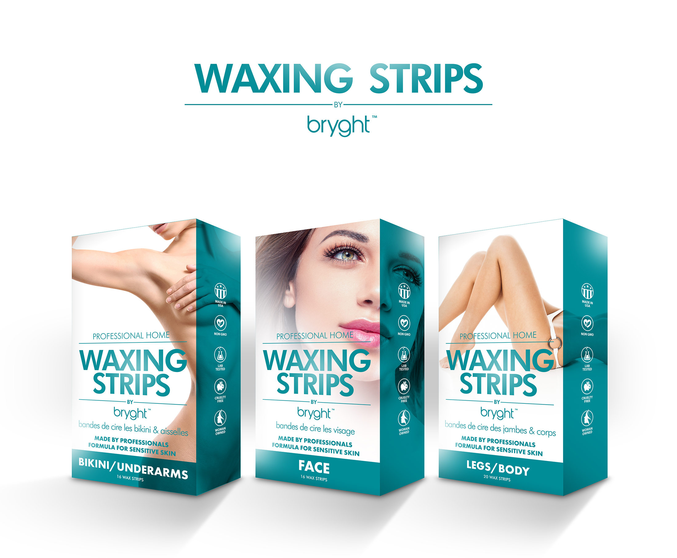 bryght waxing strips
